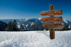 Contexto do inverno Fotografia de Stock