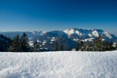 Contexto do inverno Foto de Stock Royalty Free