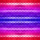 Contexto do mosaico do triângulo Imagens de Stock