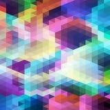 Contexto do mosaico do triângulo Fotos de Stock