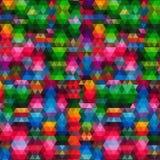 Contexto do mosaico do triângulo Imagem de Stock Royalty Free