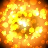 Contexto dourado Imagens de Stock Royalty Free
