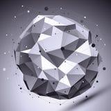 Contexto eps8, engodo digital monocromático do vetor espacial dimensional ilustração royalty free