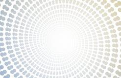 Contexto espiral de Copyspace do zoom ilustração royalty free