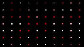 contexto grande do base de dados dos dados do background&cube da matriz da disposição da luz de néon do quadrado do vj 4k ilustração royalty free