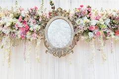 Contexto interno da cerimônia de casamento Foto de Stock