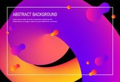 Contexto moderno de la pendiente, diseño de tarjeta del vector 3d libre illustration