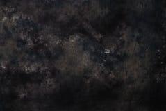 Contexto negro de la fotografía de la muselina Imagen de archivo