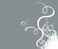 Contexto ornamental de las ilustraciones de la fantasía de Grunge stock de ilustración
