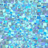 contexto púrpura azul hecho fragmentos 3d del modelo de la teja Imagen de archivo libre de regalías