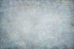 Contexto pintado azul do estúdio de pano da tela da lona Foto de Stock Royalty Free