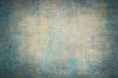Contextos pintados a mano de la lona amarilla de la turquesa Fotografía de archivo libre de regalías