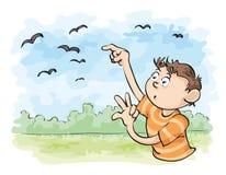 Conti i corvi Fotografie Stock Libere da Diritti
