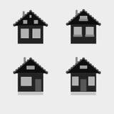 Contiene los iconos, vector Foto de archivo