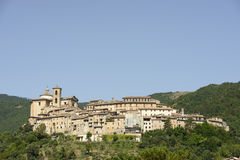 Contigliano buildings, Rieti Stock Photography
