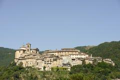 Contigliano buildings, Rieti Stock Photography