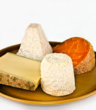 cheese varieties  Stock Photos