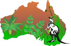 Continent Australia Stock Photos