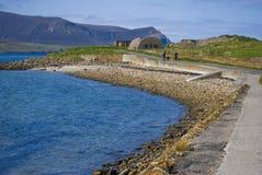 continent orkney de plage photo libre de droits
