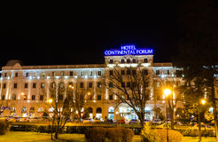 Continentaal hotel stock foto