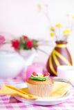 Continentaal kleurrijk ontbijt Royalty-vrije Stock Fotografie