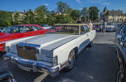 1975 continentaal Lincoln Stock Afbeelding