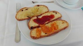 Continentaal ontbijt Stock Fotografie