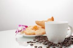 Continentaal ontbijt royalty-vrije stock afbeelding