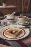 Continentaal ontbijt stock afbeeldingen