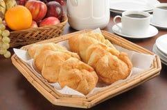Continentaal ontbijtbuffet royalty-vrije stock afbeelding