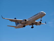 Continental airlines Boeing 737 royalty free stock image