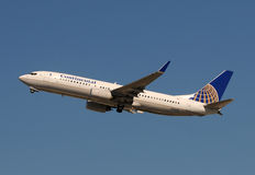Continental Airlines Boeing 737-800 jet Stock Images