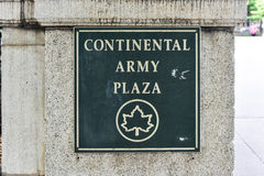 Continental Army Plaza, New York Royalty Free Stock Photos