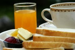 Continental breakfast Royalty Free Stock Image