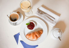 Continental breakfast Royalty Free Stock Photo