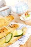 Continental breakfast. Royalty Free Stock Photos