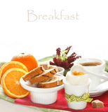 Continental breakfast. Royalty Free Stock Images