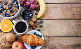 Free Continental Breakfast Royalty Free Stock Photos - 60124378