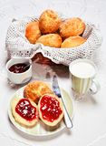 Continental breakfast. Stock Photos