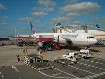 Continental cargo Stock Image