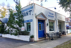 The Continental Corner restaurant. In historic downtown Summerville, South Carolina Stock Photos