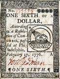 Continental Currency Dollar. Royalty Free Stock Images