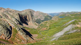 The Continental Divide in Colorado, USA Stock Image
