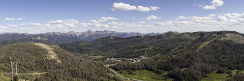 The Continental Divide Royalty Free Stock Images