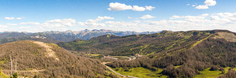 The Continental Divide Stock Image