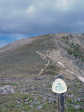 Continental Divide Trail Royalty Free Stock Photography