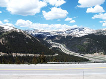 Continental Divide Interstate 70 Royalty Free Stock Image