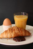 Continental French Breakfast Stock Photos