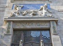 Continental Hotel Zara facade in Budapest, Hungary. Royalty Free Stock Photos