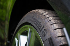Continental Tyres - ContiSportContact5 Stock Photography